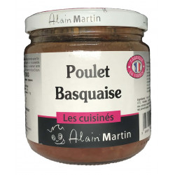 Poulet Basquaise au piment Basque